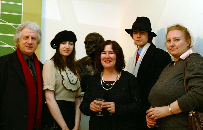 Andonis Violaris and family with Maeve O'Higgins