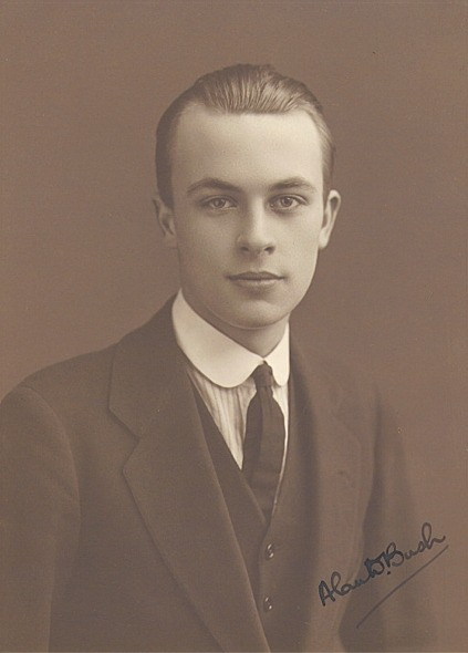 Alan Bush, aged about 18