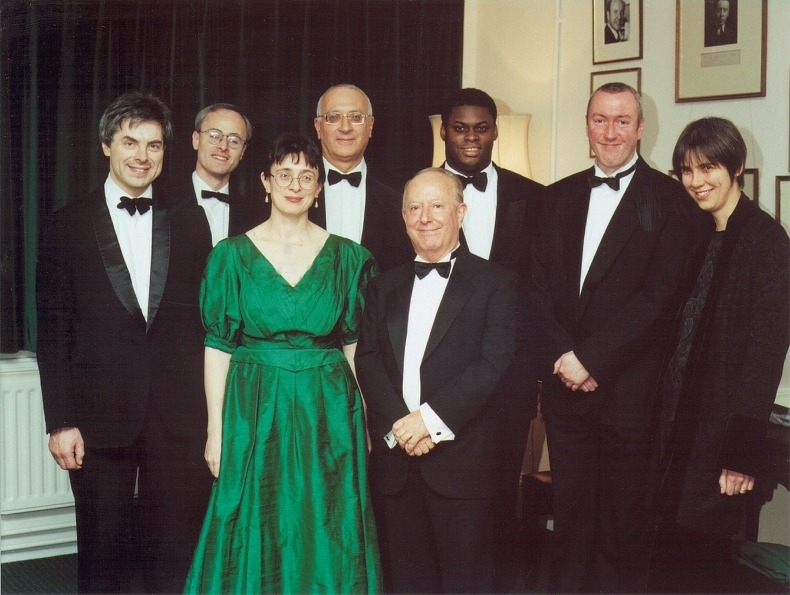 The artists at the Centenary Concert